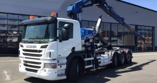 Камион шпригли Scania R 480 8x4*4 Hook tuck with cane PK34002