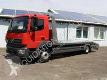 Carrier Mercedes-Benz Atego 1224 Car truck LKW gebrauchter Pritsche