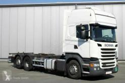Ciężarówka Scania R R 450 6X2 BDF Topline Retarder LDW ACC podwozie używana