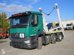 Camión multivolquete Mercedes Antos 2540 L 6x2 Absetzkipper Vorlauf Lenk Lift