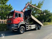 Камион самосвал MAN TGA 26.440 6X6 Kipper Mit Kran HMF 16 TON /Funk