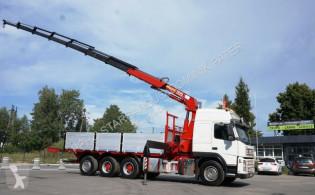 Camión Volvo FM 480 8x4 HMF 2820 K7+1 KRAN CRAN caja abierta usado