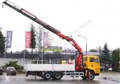 Camion plateau MAN TGA 26.430 6x4x2 FASSI 360XP KRAN Cran Fly Jib