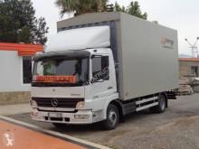Caminhões Mercedes caixa aberta com lona usado