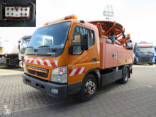 Mitsubishi Fuso sewer cleaner truck Canter Fuso 7C14 Saug + Spülwagen Funk