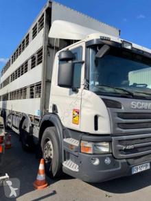 Camion bétaillère porcins Scania P 420