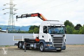 Ciężarówka Scania R400 Pritsche 6,20m + PK 13000B + FUNK ! platforma używana