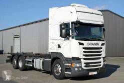 Ciężarówka podwozie Scania R R 450 6X2 BDF Topline Retarder LDW ACC