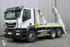 Camion Iveco AD 260 6X2 Absetzkipper Lenkachse Klima ACC multibenne occasion