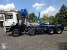 Камион мултилифт с кука DAF Abroller mit PENZ Kran 15Z9.50R 8x8 ALLRAD