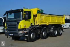 Camión Scania volquete volquete bilateral usado