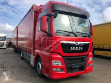 Camión remolque MAN TGX TGX 18.480 XXL E6 kompletter Zug Durchlader Anh. lona corredera (tautliner) usado