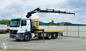 شاحنة منصة Mercedes Actros 2541 Pritsche 6,20m+ Kran/FUNK*6x2*