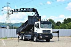 Camión MAN TGA 33.390 Kipper 6,10 m+ HIAB288E-8HIDUO / FUNK caja abierta usado