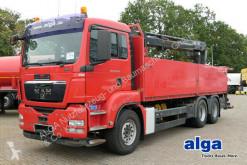 MAN TGS 26.400 TGS/6x4/Kran HIAB 166K/AHK truck used dropside