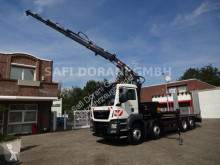 Camion soccorso stradale MAN TGS 35.360 Abschlepper + HIAB Kran + Containerver.