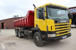 Lastbil flerecontainere Scania P124 360