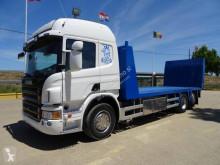 Камион превоз на строителна техника Scania P 420