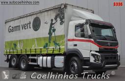 Camión Volvo FMX 500 lonas deslizantes (PLFD) usado