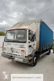 Lastbil Renault Midliner 140 skjutbara ridåer (flexibla skjutbara sidoväggar) begagnad