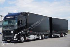 Ciężarówka Volvo FH / / 500 / XXL / ACC / EURO 6 / ZESTAW PRZEJAZDOWY 120 M3 + remorque rideaux coulissants firanka używana