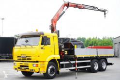 Camion Kamaz 65117 plateau ridelles occasion