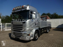 Kamión Scania R R410 Pritsche mit ATLAS Kran valník bočnice ojazdený