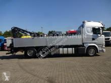 Scania LKW Pritsche Bracken/Spriegel R R410 Pritsche mit ATLAS Kran
