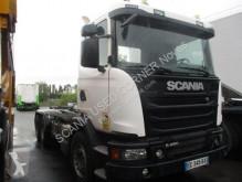Camión Scania G 450 Gancho portacontenedor usado