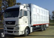 Lastbil boskapstransportvagn MAN