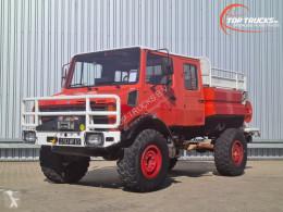 Camión Mercedes Unimog 1550 L Unimog 1550 L (437) Doppelkabine, CCF2000 ltr. - Expeditievoertuig, Camper, Winch bomberos usado
