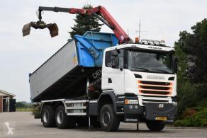 Camión volquete volquete trilateral Scania G 450