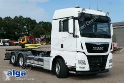 Camión MAN TGX 26.480 TGX LL 6x2, Euro 6, Gelenkt, Dachklima chasis usado