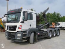 Kamión hákový nosič kontajnerov MAN TGS TG-S 35.440 8x4-4 BL Abrollkipper hydr. Cont.-Verr.