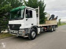 Mercedes LKW Pritsche Actros 2632 6x4 Kran Hiab 144B -3 DUO/Blatt-Blat