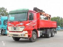 Camión Mercedes Actros Actros 2643 Kipper/Kran * 6X4* volquete usado