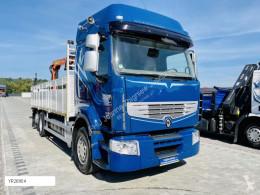 Lastbil Renault Premium 450DXI motor Volvo 6x2 dzwig Palfinger PK10500 platta begagnad