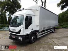 Camión lonas deslizantes (PLFD) Iveco EUROCARGO160-280 PLANDEKA 22 PALETY WEBASTO KLIMA TEMPOMAT PNEU