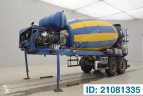Semi reboque betão betoneira / Misturador Mixer 10 M³