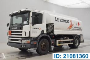 Kamión cisterna chemické výrobky Scania P114