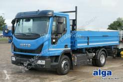 Camión volquete volquete trilateral Iveco Eurocargo ML100E22K, Klima/Meiller 3 Seiten Kipper