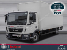 Camión furgón MAN TGL 12.220 BL-KOFFER-AHK-LBW-KLIMA-3SITZE
