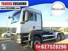 Camión MAN TGS 26.400 Gancho portacontenedor usado