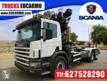 Lastbil Scania platta begagnad