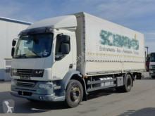 DAF ponyvával felszerelt plató teherautó LF55.300*Euro 5EEV*LBW*Seitentür*Klima*18 Tonner