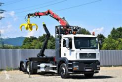 Camión multivolquete MAN TG310A Abrollkipper 5,20m + DIEBOLT D 15 - 78 Z