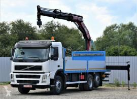 Camión Volvo FM 360 Pritsche 6,30m + PK 18500 + FUNK caja abierta usado