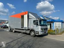 Camion Mercedes Atego 1529 Autotransporter Geschlossen Lift porte voitures occasion