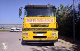 Iveco heavy equipment transport truck Magirus