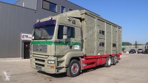 Camião MAN TGA 26.430 transporte de gados usado